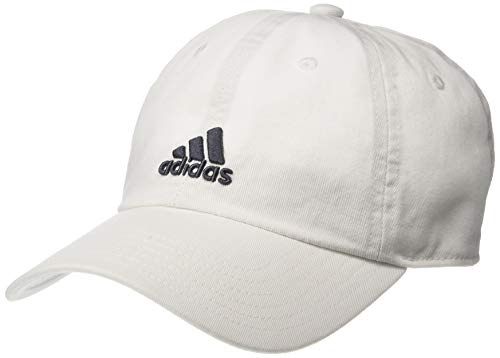 adidas Boys / Youth Ultimate Relaxed Adjustable Cap, White/Onix, One -