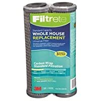 Filtrete Air Purifiers 3WH-STDCW-F02 Filtrete™ Whole House Carbon Replacement Filter 2 Count