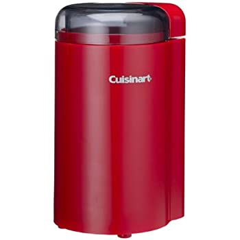 Amazon Com Cuisinart Dcg 20nr Coffee Grinder Red Power
