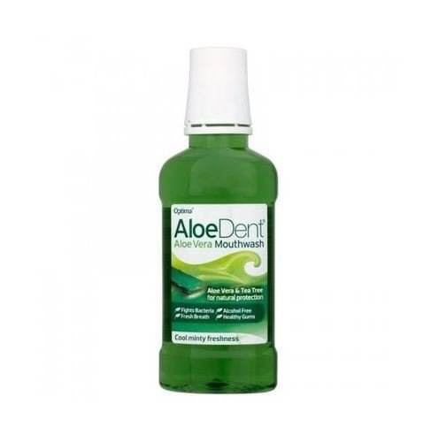 Aloe Dent Aloe Vera Mouthwash 250ml - PACK OF 2 by Aloe Dent