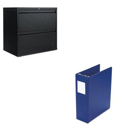 KITALELF3029BLWLJ36544BL - Value Kit - Wilson Jones Large Capacity Hanging Post Binder (WLJ36544BL) and Best Two-Drawer Lateral File Cabinet (ALELF3029BL) by Wilson Jones