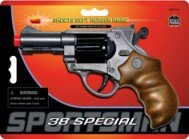 Handgun Special 38 - Sportsman 38 Special Air Soft Pistol Toy Gun with 20 Ammo