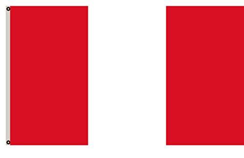 Fyon Civil Flag of Peru Banner 3x5ft