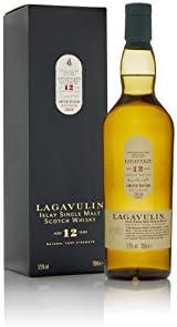 Lagavulin 12 Whisky escocés puro de malta de la isla de Islay Edición especial 2018 - 700 ml