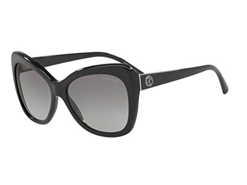 Giorgio Armani Womens Sunglasses Black/Grey Acetate - Non-Polarized - - Sunglasses Giorgio Armani Women