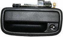 95-04 TOYOTA TACOMA FRONT DOOR HANDLE LH (DRIVER SIDE) TRUCK, Black, Outside (1995 95 1996 96 1997 97 1998 98 1999 99 2000 00 2001 01 2002 02 2003 03 2004 04) T462136 6922035020
