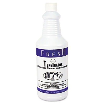 FRS1232TN Terminator Deodorizer All-Purpose Cleaner, 32 oz. Bottles (Terminator Purpose Cleaner All Deodorizer)