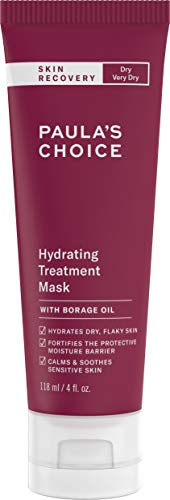 Paula's Choice SKIN RECOVERY Hydrating Treatment Facial Mask, 4 Ounce Bottle, for Extra Dry Skin (Best Hydrating Face Cream For Dry Skin)