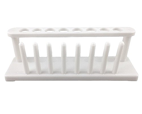 (Honbay 8-Well Plastic Test Tube Rack Scientific Lab Tube School Laboratory Supplies Experiment Toy )