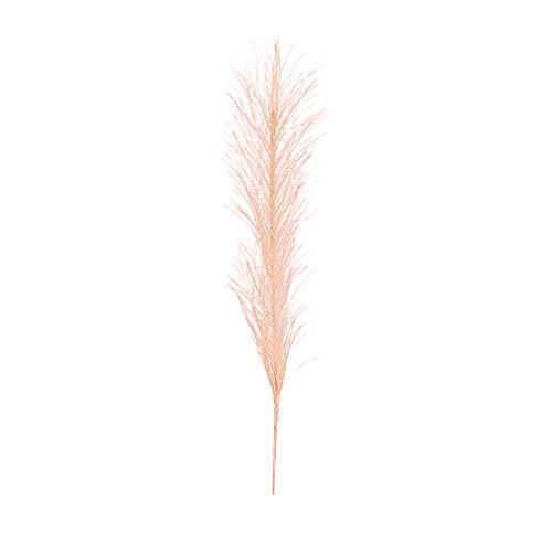 KNDDY Artificial Feather Phoenix Tail Grass Artificial Flower DIY Home Decoration Wedding Bouquet Decor Fake -