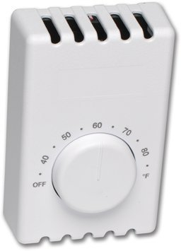 Cadet T410B-W Mechanical Double Pole Thermostat