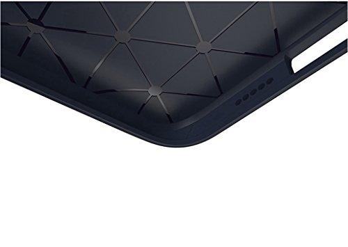 Funda Nokia 5,Funda Fibra de carbono Alta Calidad Anti-Rasguño y Resistente Huellas Dactilares Totalmente Protectora Caso de Cuero Cover Case Adecuado para el Nokia 5 C