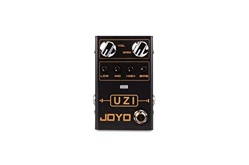 JOYO R-03 Uzi High Gain Effect Pedal with BIAS knob and Stage LED