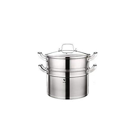 XT - Olla de Sopa Olla de Acero Inoxidable 304 Cocina de ...