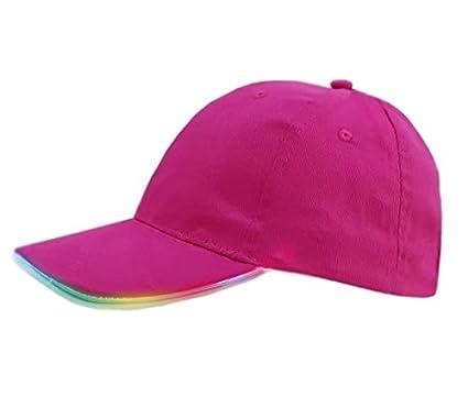 Glow In Dark Light Up Led Hat Hip-hop Luminous Caps New Fashion Baseball Caps Christmas Halloween Party Hat Accessories Unisex Men's Hats Men's Baseball Caps