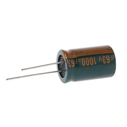 (63V 1000uF Capacitance Electrolytic Radial Capacitor High Frequency Low ESR)