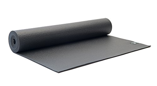 Halfmoon Women's Studio Yoga Mat, Charcoal, One Size Review
