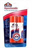 Elmer's Repositionable Picture and Poster Glue Stick (1.54oz) (Pack of 3 )