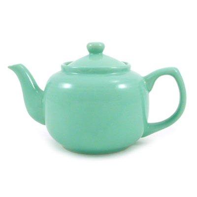 Seafoam Green Classic 6 Cup Ceramic - Teapot Green Ceramic