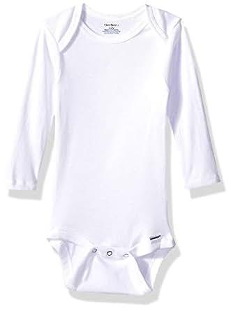 Amazon.com: Gerber Baby Boys' 6-Pack Long-Sleeve Onesies ...
