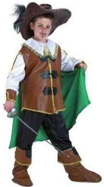Disfraz mosquetero lujo infantil. Talla 5/6.: Amazon.es: Juguetes ...