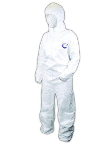 Magid Glove EconoWear DuPont Tyvek Coverall with Hood, Di...