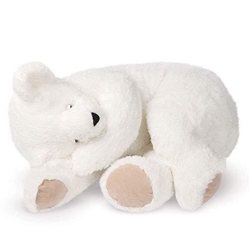 Cuddle White Bear - Vermont Giant Teddy Bear - Giant Cuddle Buddy Bear, 3 Foot Teddy Bear, White