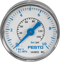 Festo 183897 Model MA-23-10-R1//8 Pressure Gauge