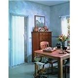 """LTL Home Products EN3280HL Spectrum Encore Folding Accordion Door, 24-36"""" x 80"""", White"""