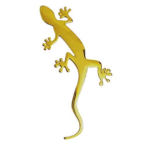 Funny Lizard 3d Car Sticker Soft Pvc Badge Emblem Sticker Car Decoration Decals