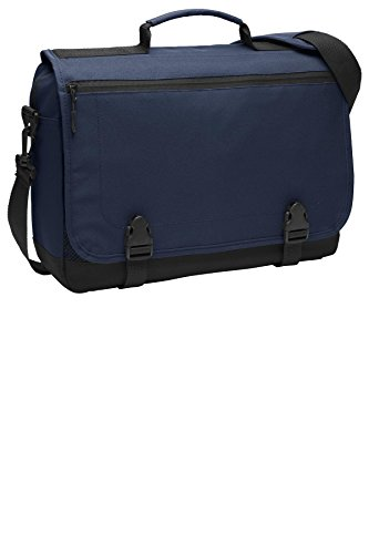 Port Authority Luggage-and-Bags Messenger Briefcase OSFA Navy
