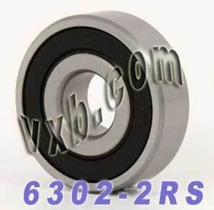 NTN 6302LLBC3 BEARING RUBBER SEALED 6302 LLB C3 6302-2RS-C3 15x42x13 mm