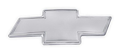 All Sales Chevy Bowtie Grille Emblem W/Border- Chrome Bow Border