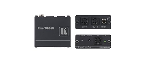 (Kramer Electronics PT-102SN 1:2 s-Video Distribution Amplifier)