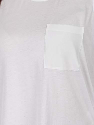 Silk Over Jersey Blusa Woolrich Tank Wwtee1122 White Ns90 Donna wAPqwfdEx