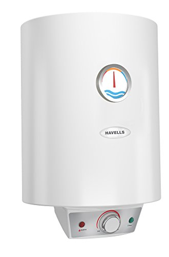 Havells Monza EC 5S 10-Litre Storage Water Heater with Flexi Pipe (white)
