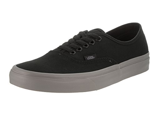 3ffd70cc52 Galleon - Vans Unisex Authentic (Pop) Black Frost Grey Skate Shoe 10 Men US    11.5 Women US