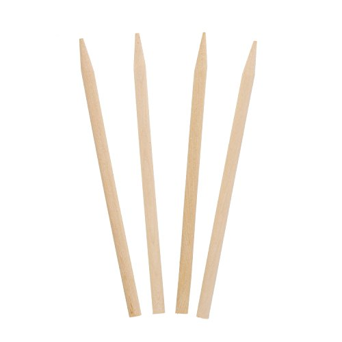 Royal 5.5'' x 1/4'' Thick Wood Skewers for Grilling Meat, Satays, and Skewered Vegetables, Case of 5,000 by Royal