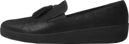 Glimmer Noir Mocassins Superskate FitFlop Femme TM Taille Tassel Black Unique XC6xZqz