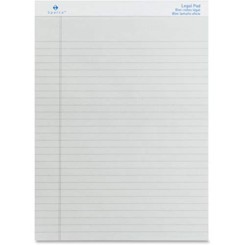 (SPR01075 - Sparco Gray Legal Ruled Pad)