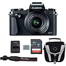 Canon G1X Mark III Digital Camera Bundle + Advanced Accessory Kit - Including to...