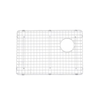 Rohl WSG4019LGSS 22-7/8-Inch by 15-3/8-Inch Wire Sink Grid for RC4019 and RC4018 Kitchen Sinks, Large Left-Hand Bowl, Stainless Steel