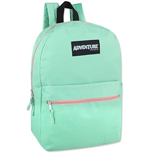 "17"" Trailmaker Backpack Bookbag (One Size, Adventure Mint)"