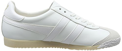 Ww white Mujer Leather 50 Blanco white White Harrier Zapatillas Gola Para White qFCv5W