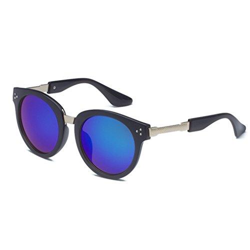 amp;lunettes Protection Mode Lunettes Uv Ladies Soleil Sunglasses 6 Vintage amp; De couleur 1 RwpdxnFgRq