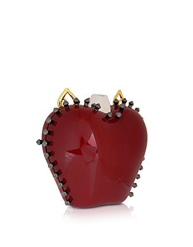 Rouge CARLOTTA Pochette Plastique MYLIERUBINO ROMA Femme qcwT8xwtgZ