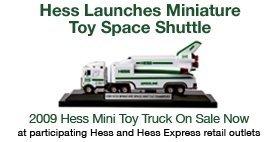 2009 Hess Miniature Space Shuttle Transport by Hess