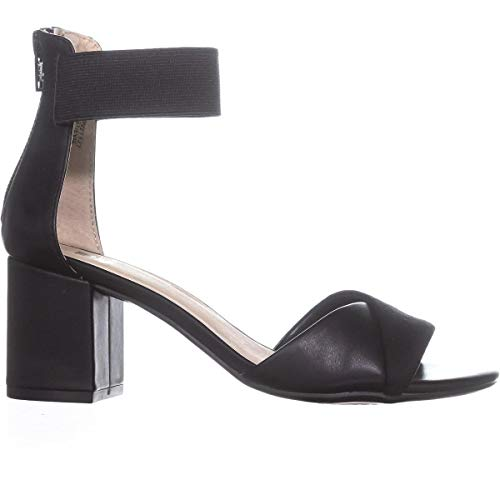 Sandals Strap Evie Crossed Criss Mountain Ankle White Black FAYqznw