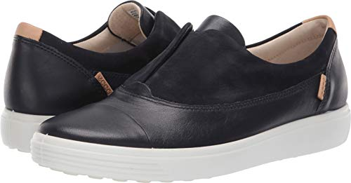 - ECCO Women's Women's Soft 7 Slip-on Sneaker, Night Sky, 41 M EU (10-10.5 US)