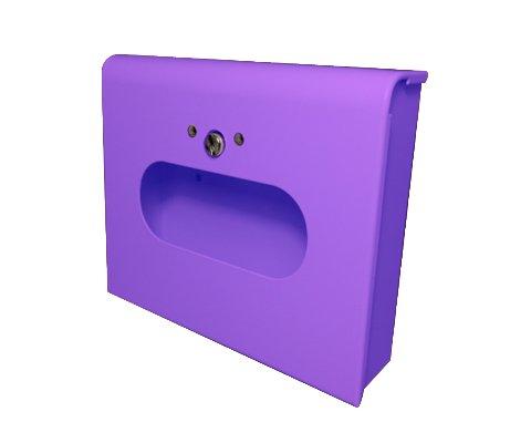 Sanitary Napkin & Tampon Disposal Bag Dispenser -Box Format, Lavender 10 units